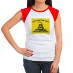 Gadsden Flag updated Women's Cap Sleeve T-Shirt