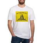 Gadsden Flag updated Fitted T-Shirt