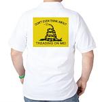Gadsden Flag updated Golf Shirt
