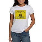 Gadsden Flag updated Women's T-Shirt