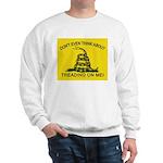 Gadsden Flag updated Sweatshirt