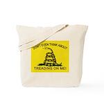 Gadsden Flag updated Tote Bag