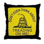 Gadsden Flag updated Throw Pillow