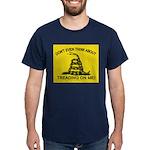 Gadsden Flag updated Dark T-Shirt