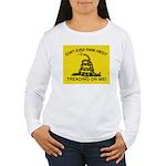 Gadsden Flag updated Women's Long Sleeve T-Shirt