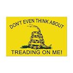 Gadsden Flag updated Mini Poster Print