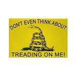 Gadsden Flag updated Rectangle Magnet