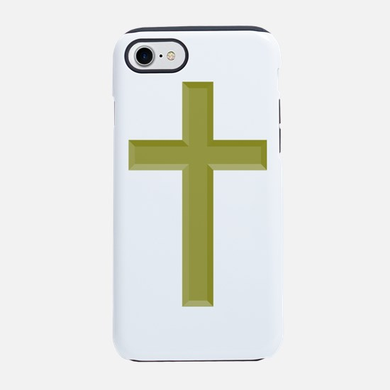 Gold Cross iPhone 7 Tough Case