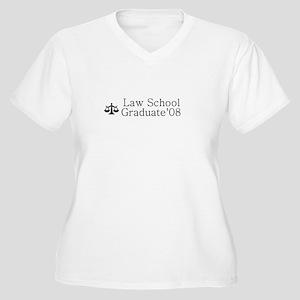 Graduate '08 Women's Plus Size V-Neck T-Shirt