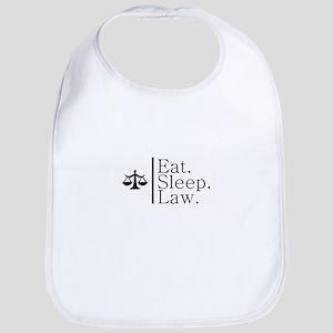 Eat. Sleep. Law. (Scales) Bib