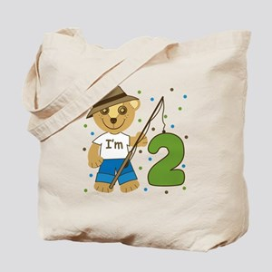 I'm 2 Fishing Bear Tote Bag
