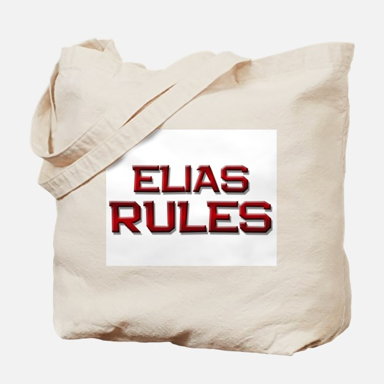 elias rules Tote Bag
