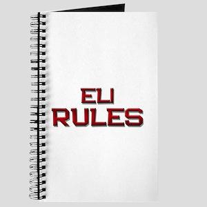 eli rules Journal