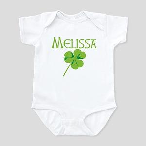 Melissa shamrock Infant Bodysuit