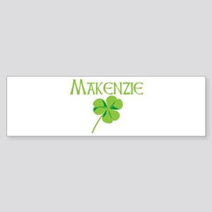 Makenzie shamrock Bumper Sticker