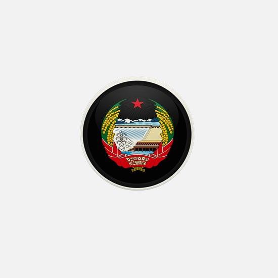 Coat of Arms of North Korea Mini Button