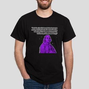 Wine to see us happy Dark T-Shirt