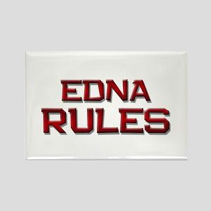 edna rules Rectangle Magnet