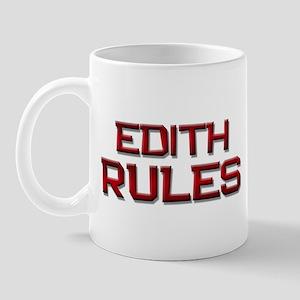 edith rules Mug