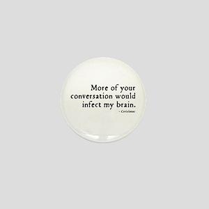 Coriolanus Insult Mini Button