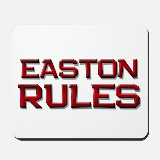 easton rules Mousepad