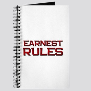 earnest rules Journal