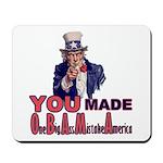 Uncle Sam on Obama Mousepad