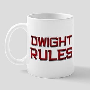 dwight rules Mug