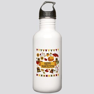 happy thanksgiving day Stainless Water Bottle 1.0L