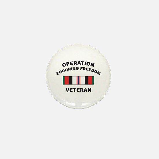 Afghanistan Veteran Mini Button