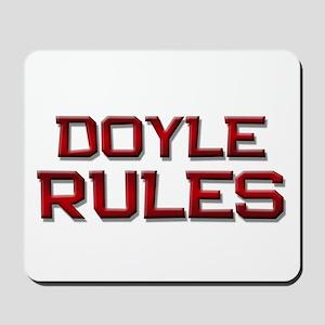 doyle rules Mousepad