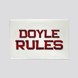 doyle rules Rectangle Magnet