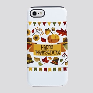 happy thanksgiving day! iPhone 7 Tough Case