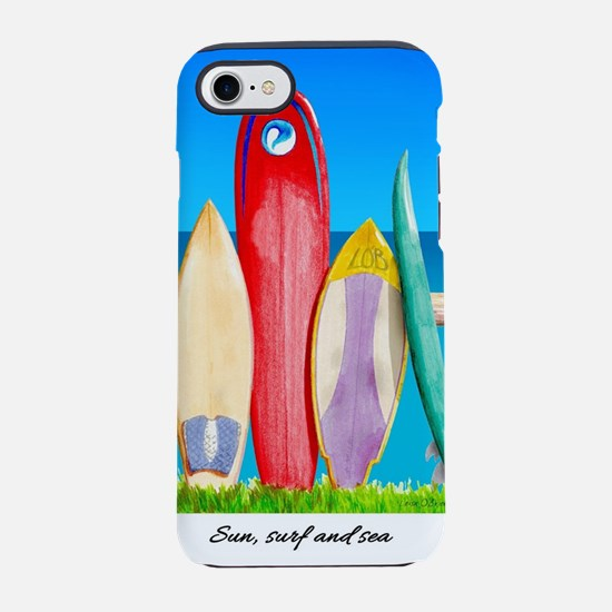 Sun, surf and sea iPhone 7 Tough Case