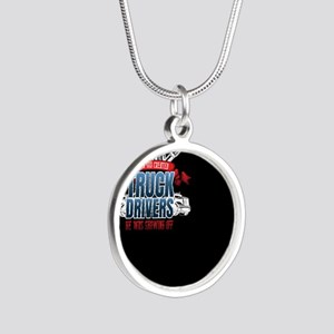 Funny God Created Truck Drivers Necklaces