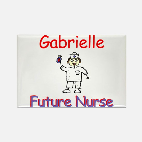 Gabrielle - Future Nurse Rectangle Magnet