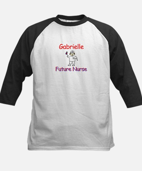 Gabrielle - Future Nurse Kids Baseball Jersey
