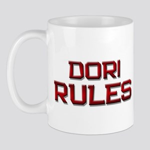 dori rules Mug