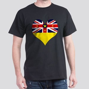 I Love NIUE Dark T-Shirt