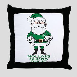 Santa O'Claus Throw Pillow