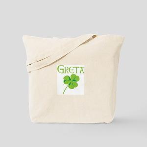 Greta shamrock Tote Bag