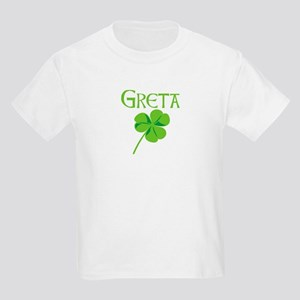 Greta shamrock Kids Light T-Shirt