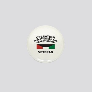 Kuwait Veteran 1 Mini Button