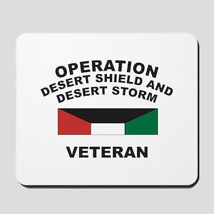 Kuwait Veteran 1 Mousepad