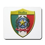 Italy Metallic Shield Mousepad