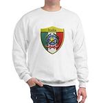 Italy Metallic Shield Sweatshirt