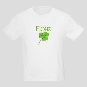 Fiona shamrock Kids Light T-Shirt