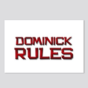 dominick rules Postcards (Package of 8)