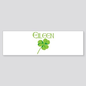 Eileen shamrock Bumper Sticker