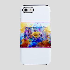 Fish, colorful, art! iPhone 7 Tough Case
